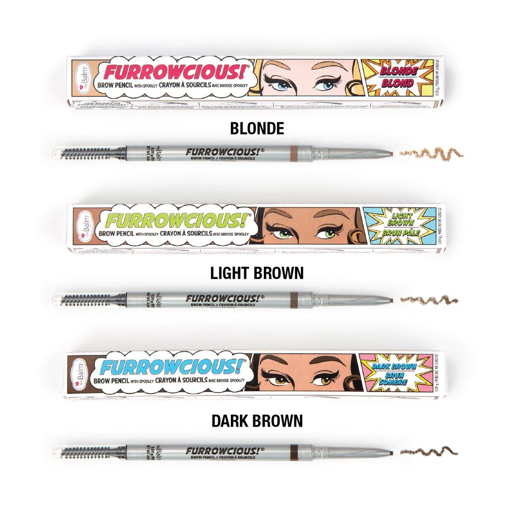 theBalm Furrowcious! Brow Pencil with Spooley | HODIVA SHOP