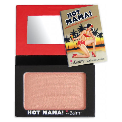 theBalm Hot Mama Shadow Blush - Peachy Pink | HODIVA SHOP