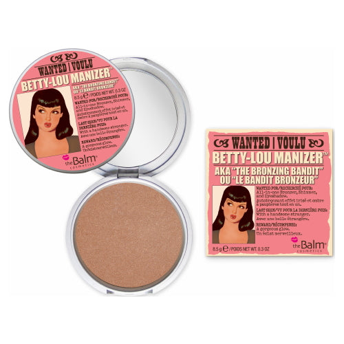 theBalm Betty-Lou Manizer Highlighter, Shadow & Shimmer - Bronzing