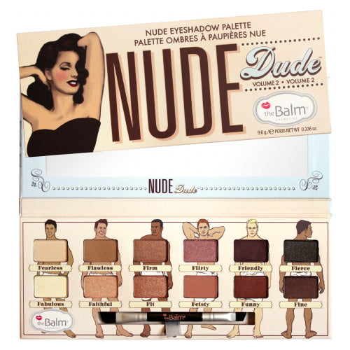 theBalm Nude Dude Nude Eyeshadow Palette - Volume 2 | HODIVA SHOP