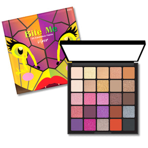 RUDE Bite Me 25 Eyeshadow Palette - Viper | HODIVA SHOP