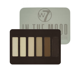 W7 In The Mood Natural Nudes Eye Colour Palette | HODIVA SHOP