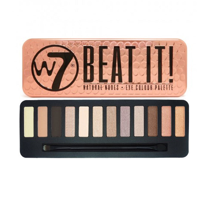 W7 Beat It Natural Nudes Eye Colour Palette | HODIVA SHOP
