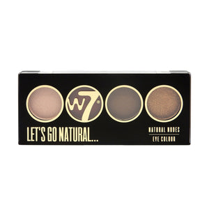 W7 Let's Go Quad Eye Color Palette | HODIVA SHOP