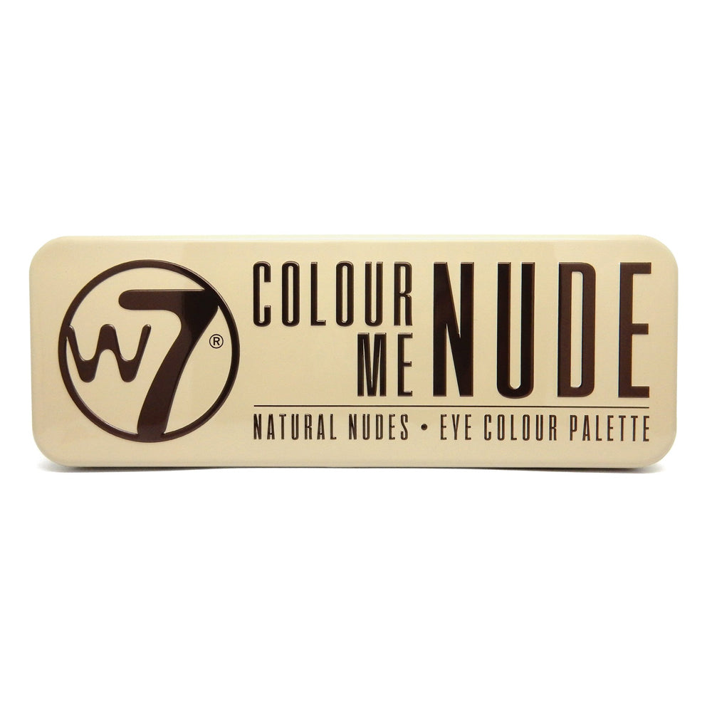 W7 Colour Me Nude Natural Nudes Eye Colour Palette | HODIVA SHOP