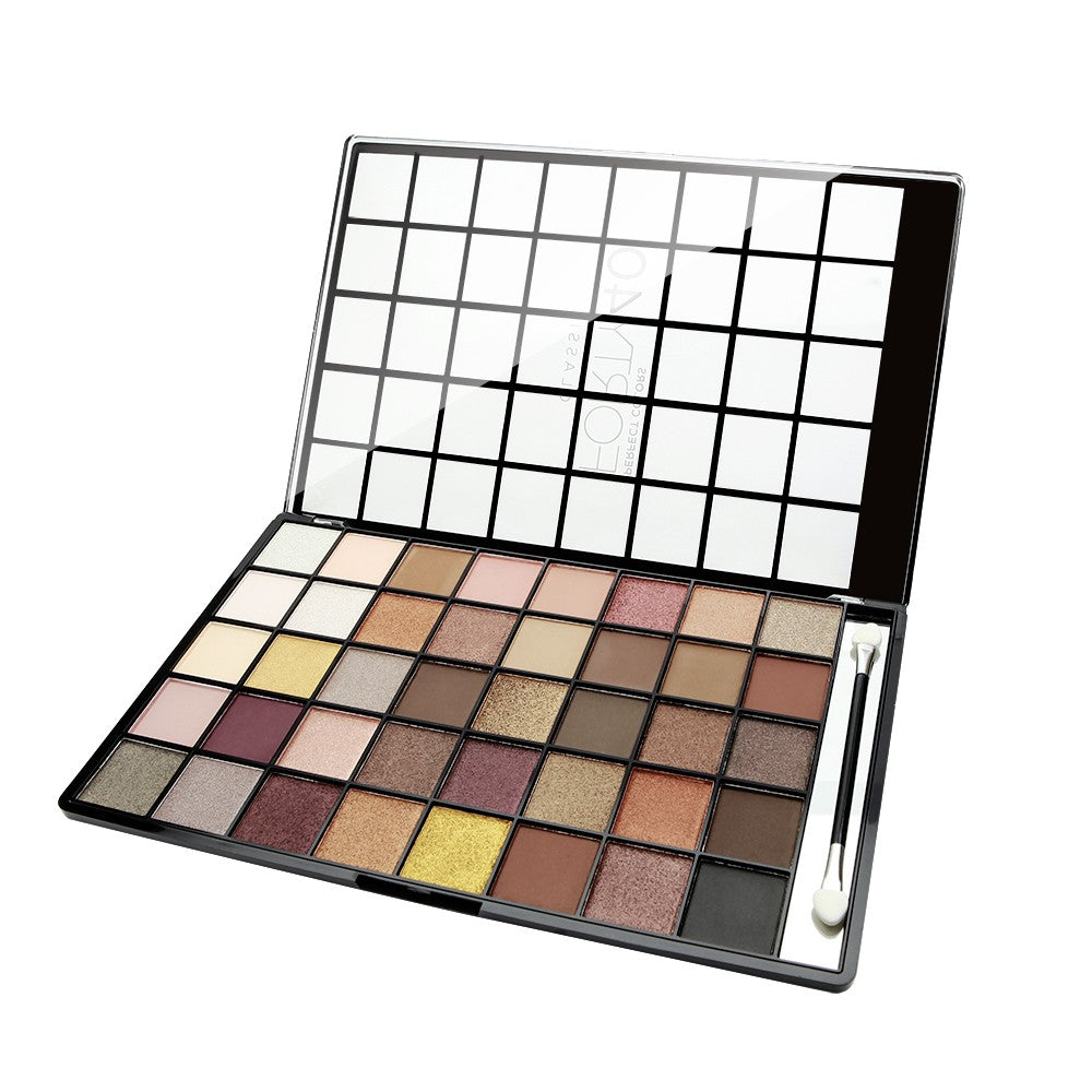 NICKA K Perfect 40 Classic Eyeshadow Palette | HODIVA SHOP