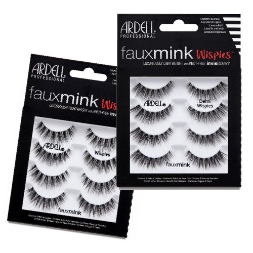 ARDELL Faux Mink Wispies 4 Pack