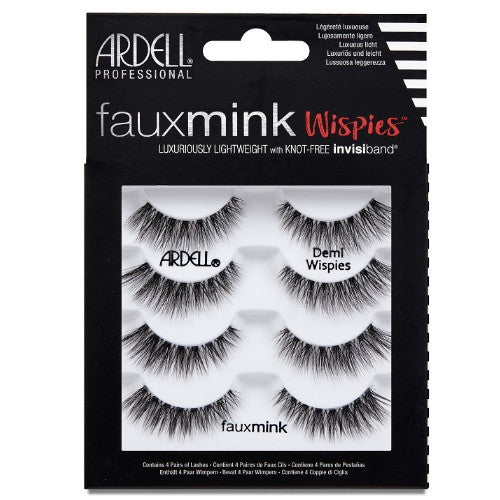 ARDELL Faux Mink Wispies 4 Pack | HODIVA SHOP