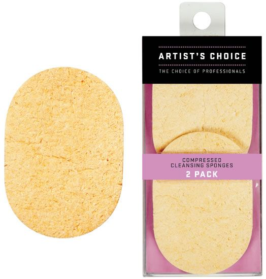 Artist Choice Compressed Cleansing Sponges 2 Pack | HODIVA LUX