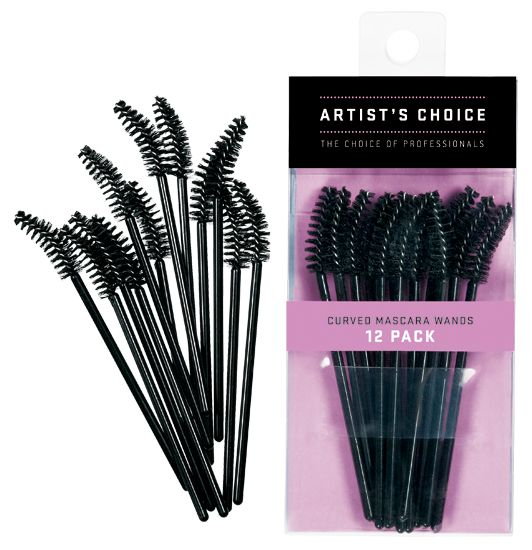 Artist Choice Curved Mascara Wands 12 Pack | HODIVA LUX