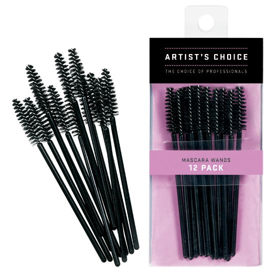 Artist Choice Disposable Mascara Wands 12 Pack | HODIVA LUX