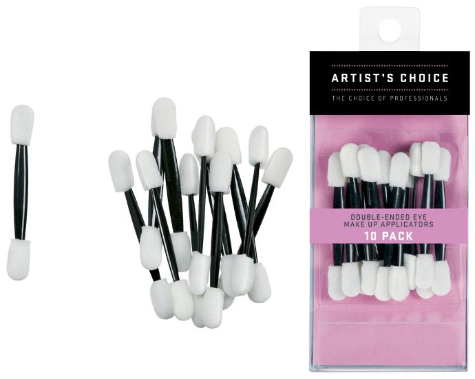 Artist Choice Double Ended Eye Make Up Applicators 10 pack | HODIVA LUX