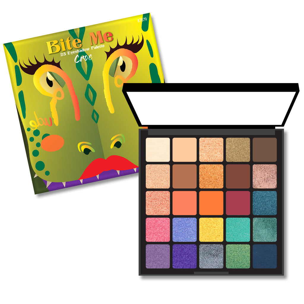RUDE Bite Me 25 Eyeshadow Palette - Croc
