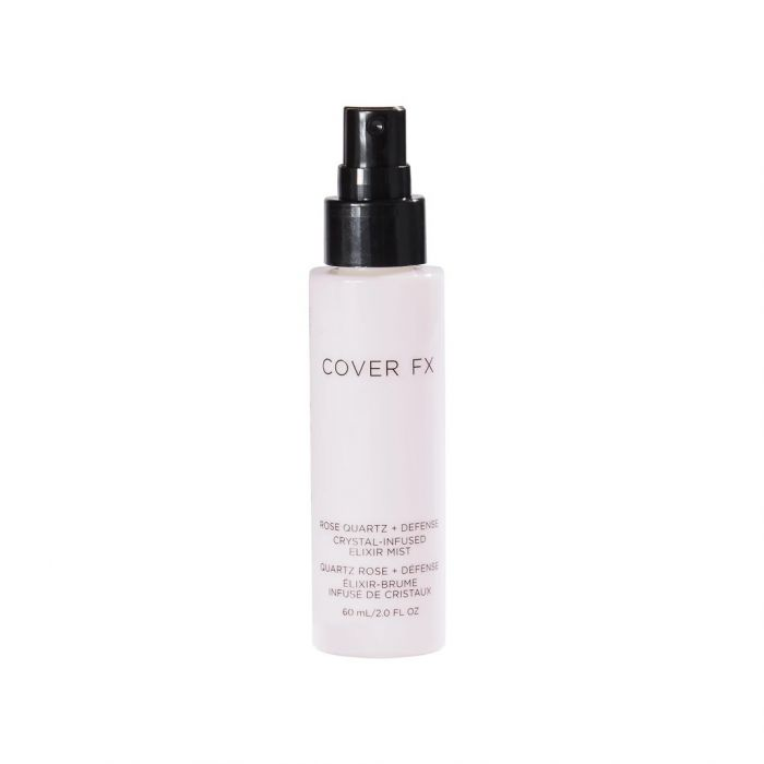 Cover FX Rose Quartz Crystal-Infused Elixir Mist | HODIVA LUX