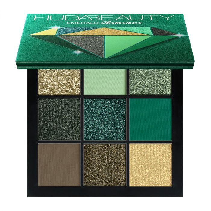 Huda Beauty Obsessions Palette Emerald | HODIVA LUX