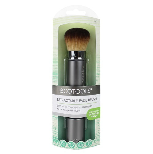 EcoTools Retractable Kabuki Brush - Cruelty-free & Recycled Materials | HODIVA SHOP