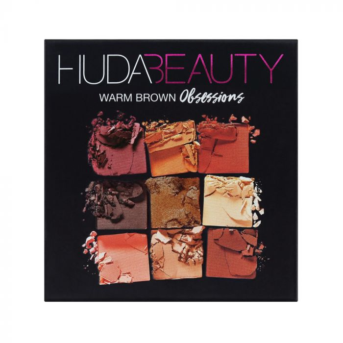 Huda Beauty Obsessions Palette Warm Brown | HODIVA LUX