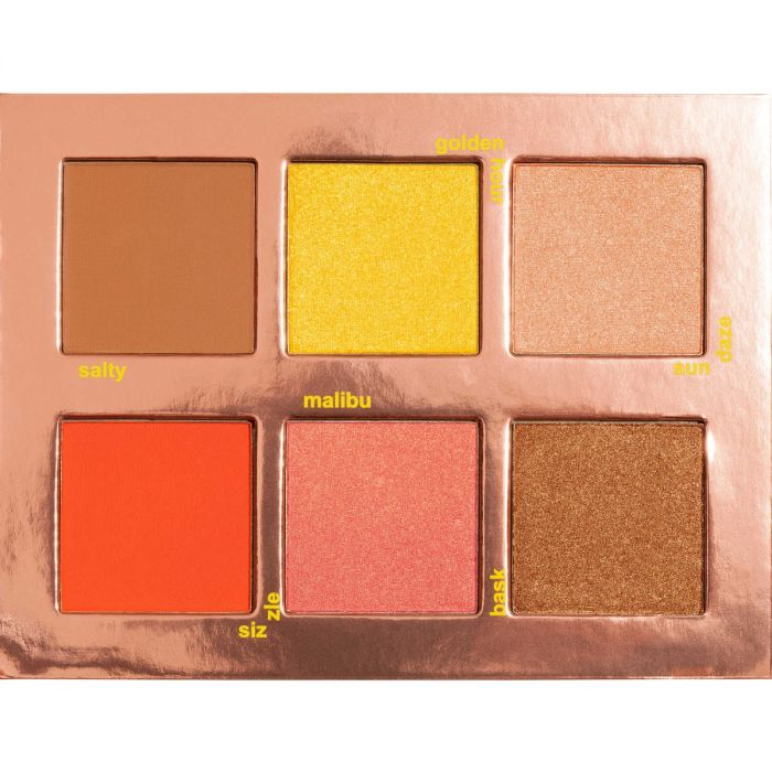 Lime-Crime Sunkissed Face Palette | HODIVA LUX