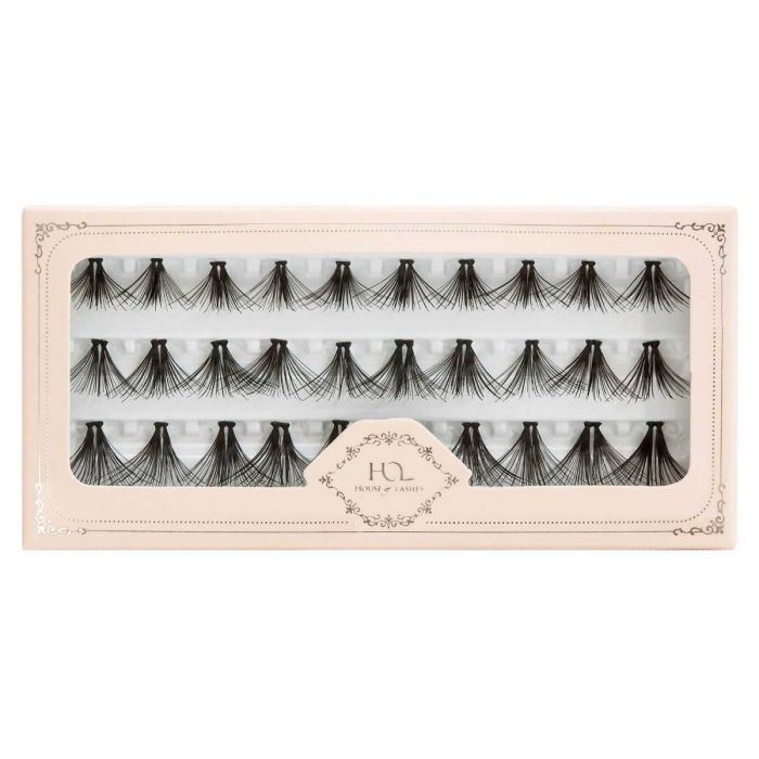 House of Lashes Le Petit Individual Triple Lashes | HODIVA LUX