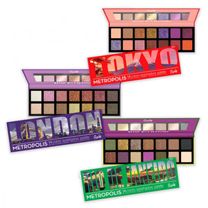 RUDE® Metropolis 14 Color Eyeshadow Palette (BUNDLE) | HODIVA SHOP