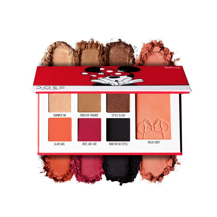 Dose Of Colors Minnie Mouse Eyeshadow + Blush palette | HODIVA LUX