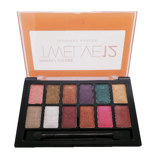 NICKA K Perfect 12 Midnight Garden Eyeshadow Palette