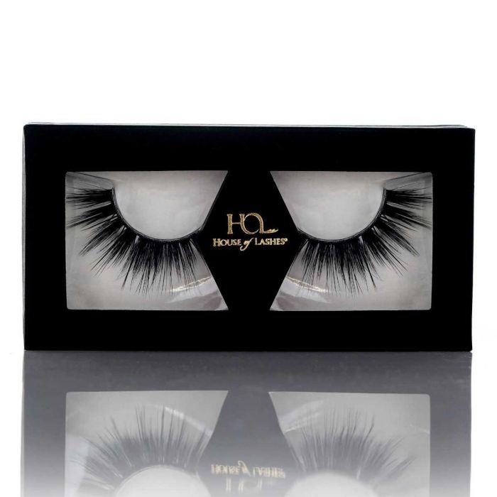 House of Lashes Noir Faux Mink Collection Opulent Noir | HODIVA LUX