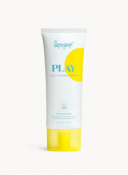 Supergoop Play 100% Mineral Lotion SPF50 | HODIVA LUX