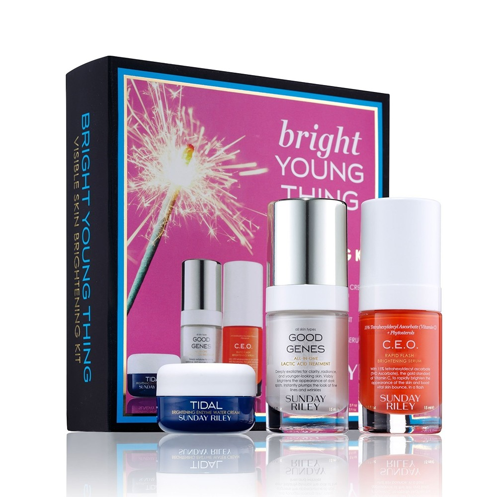 Sunday Riley Bright Young Thing Kit | HODIVA LUX