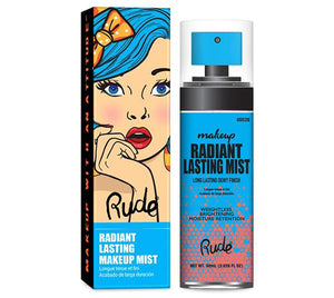 RUDE® Radiant Lasting Makeup Mist | HODIVA SHOP
