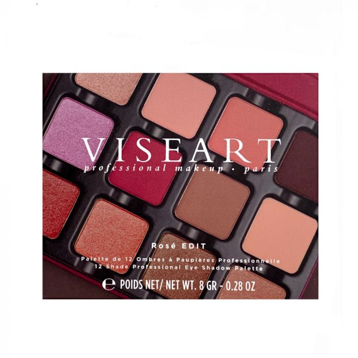 Viseart EDIT Eyeshadow Palettes 12 pan | HODIVA LUX