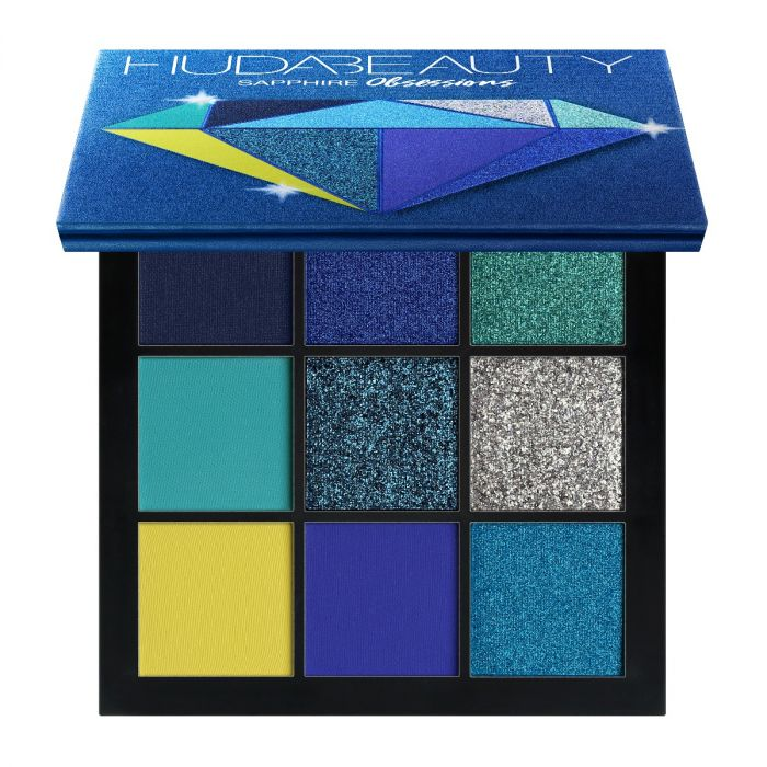 Huda Beauty Obsessions Palette Sapphire | HODIVA LUX