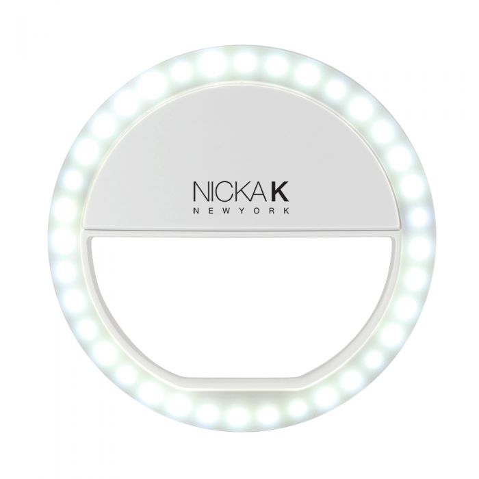 NICKA K Selfie Light - White | HODIVA SHOP