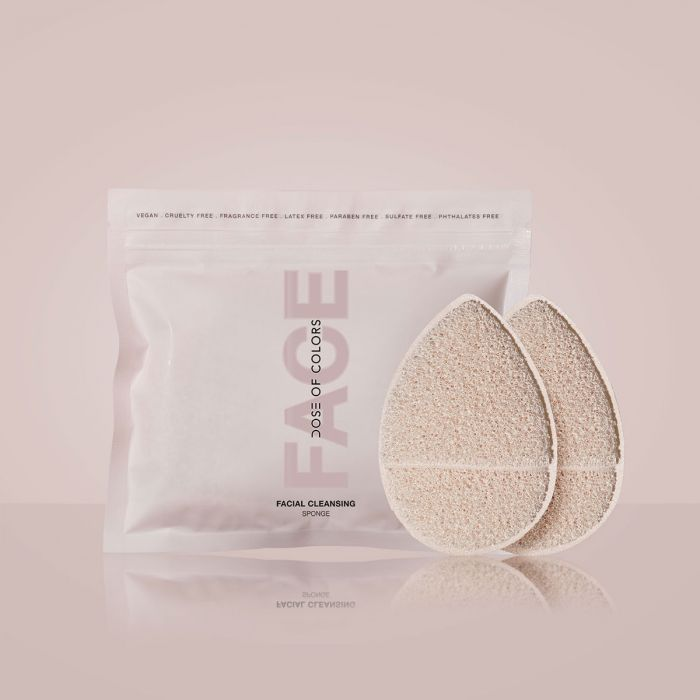 Dose Of Colors Facial Cleansing Sponge 2pack | HODIVA LUX