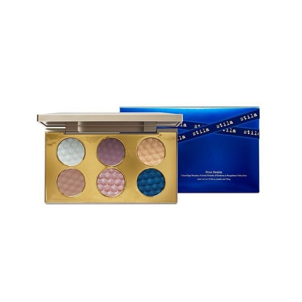 Stila Blue Realm Velvet Eye Shadow Palette | HODIVA LUX