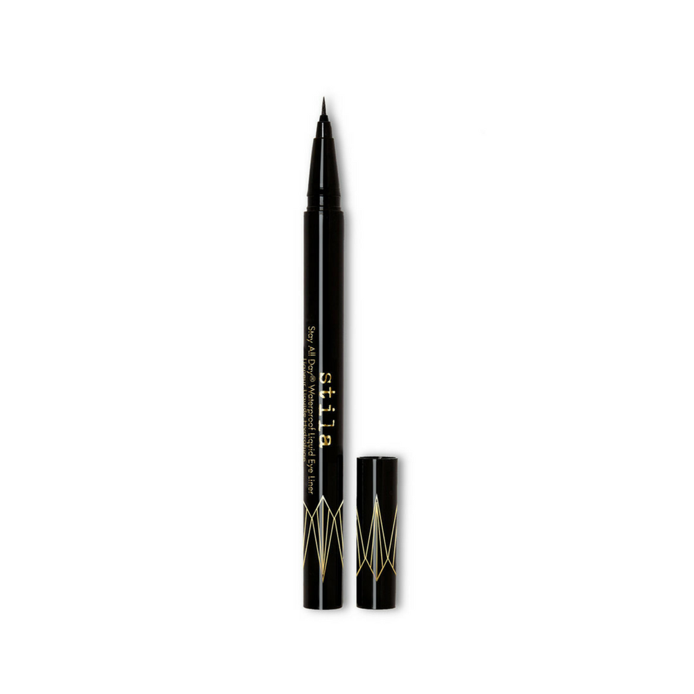 Stila Stay All Day Waterproof Liquid Eye Liner Micro Tip Intense Black | HODIVA LUX