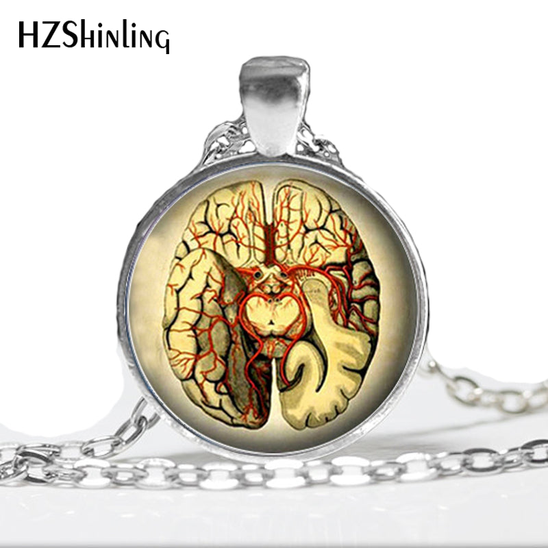 Brain Dissected(horizontal) Necklace