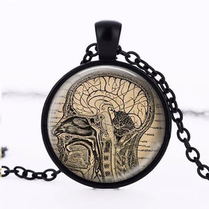 Brain Dissected(vertical) Necklace