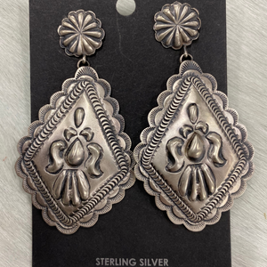 Sterling Silver Eugene Charlie Earrings