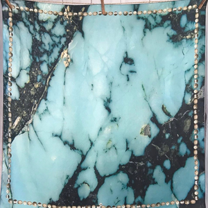 The Kingman Turquoise by Fringe Scarves
