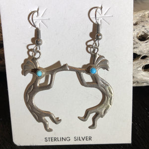 Kokopelli Drop Earrings