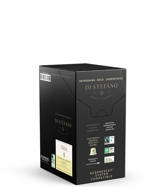 1064 Compostable Pods | Nespresso® Compatible - Di Stefano Coffee