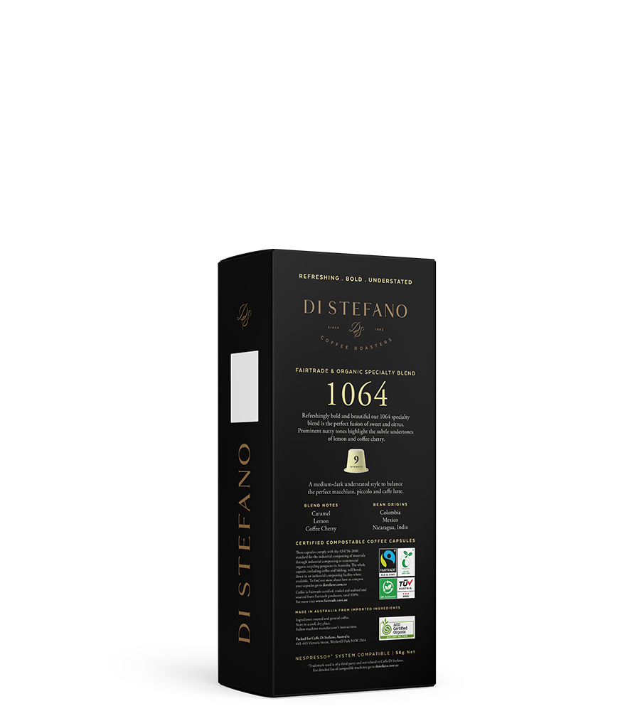 1064 NESPRESSO® compatible sustainable capsules