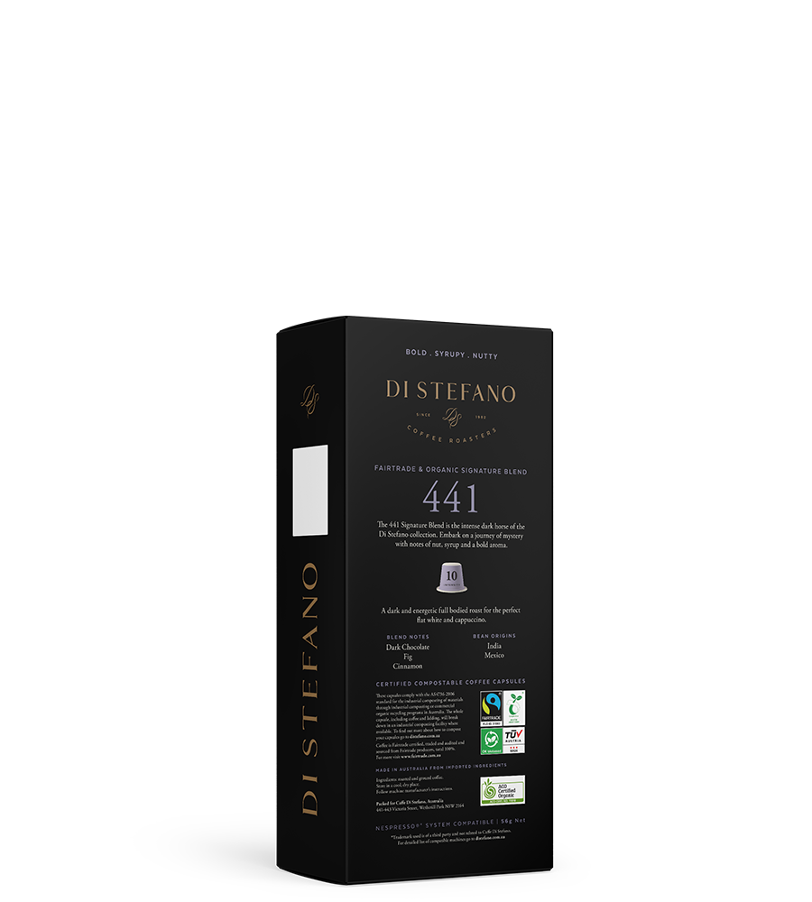 441 NESPRESSO® compatible sustainable signature capsules back