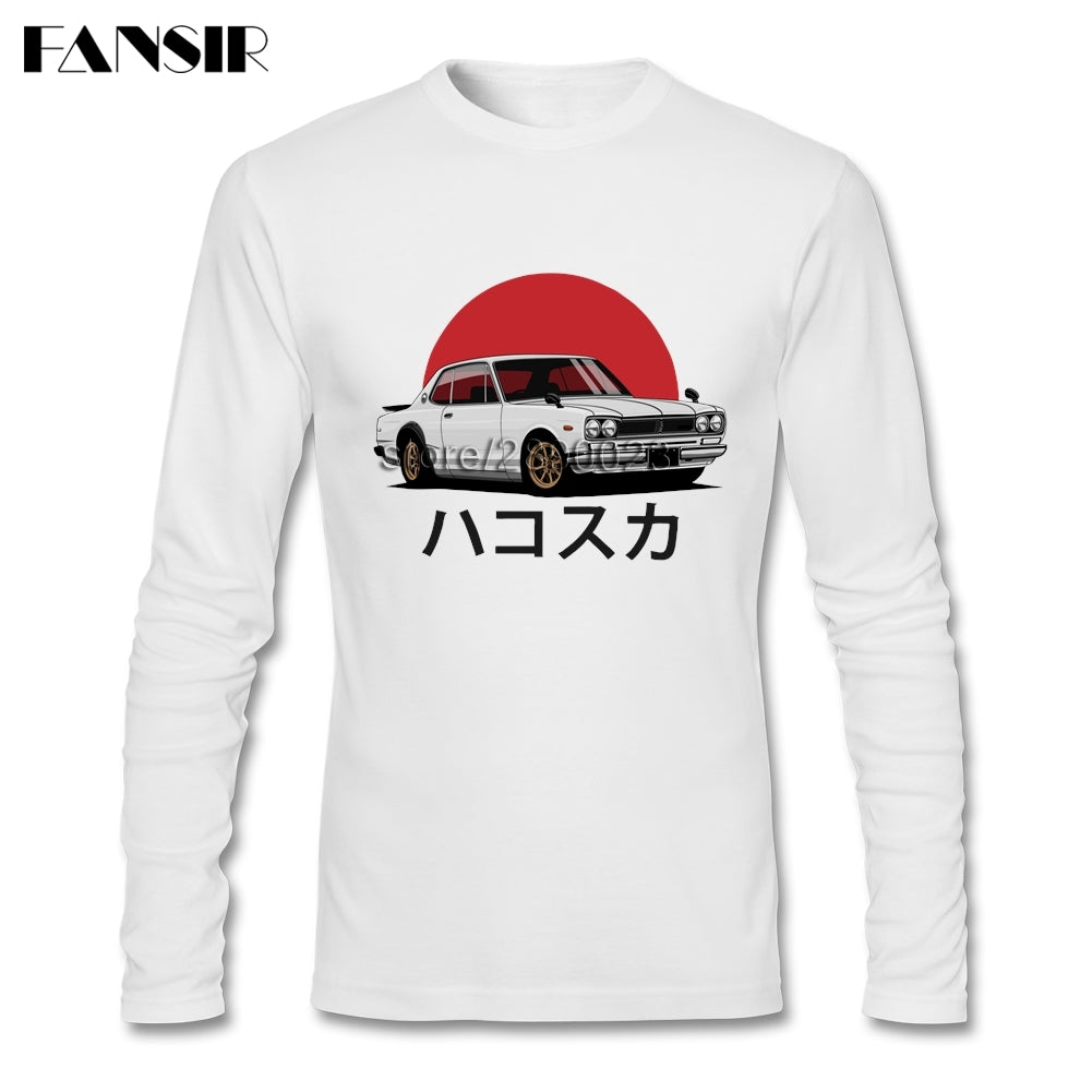 '71 Skyline Graphic Long Sleeve - Japanese Mark