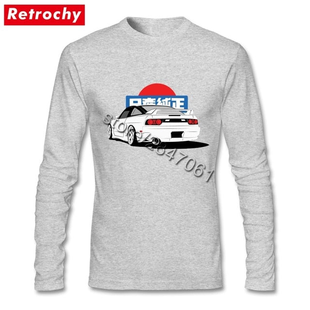 JDM Graphic S13 Silvia Long Sleeve - Japanese Mark