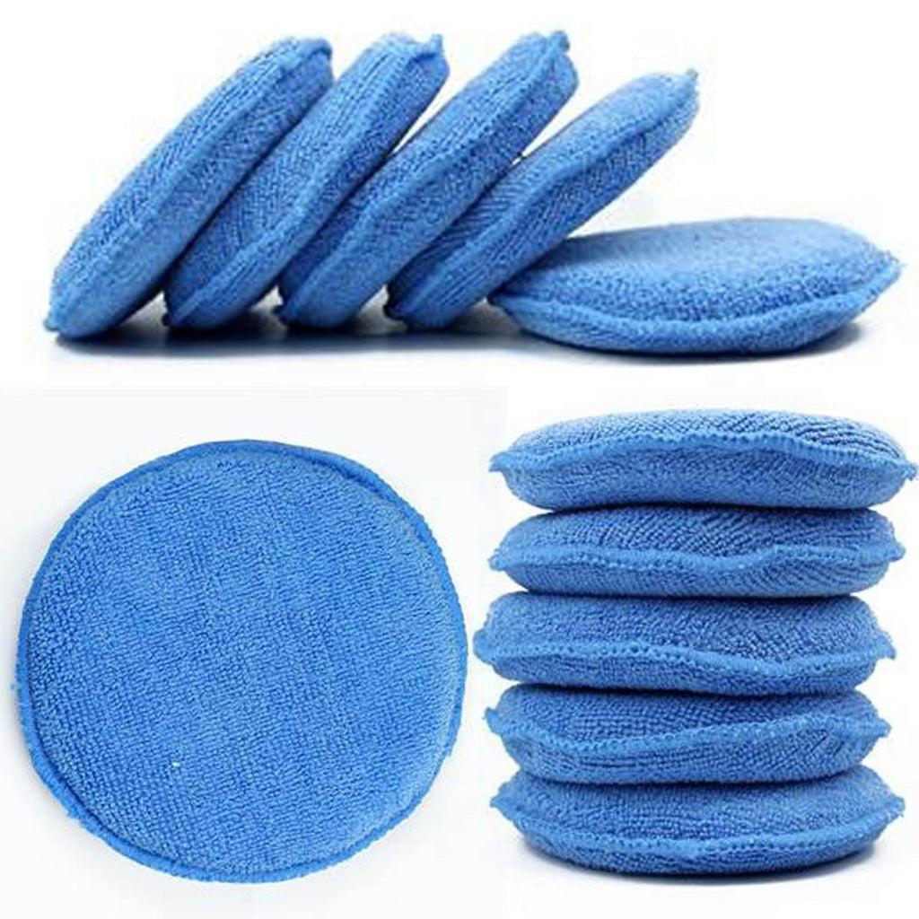 10 Piece Wax/Polish Applicator Pad Set - Japanese Mark