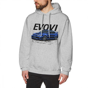 Mitsubishi Evo VI Graphic Hoodie - Japanese Mark
