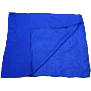 10Pcs Blue Microfiber Cleaning Towel - Japanese Mark