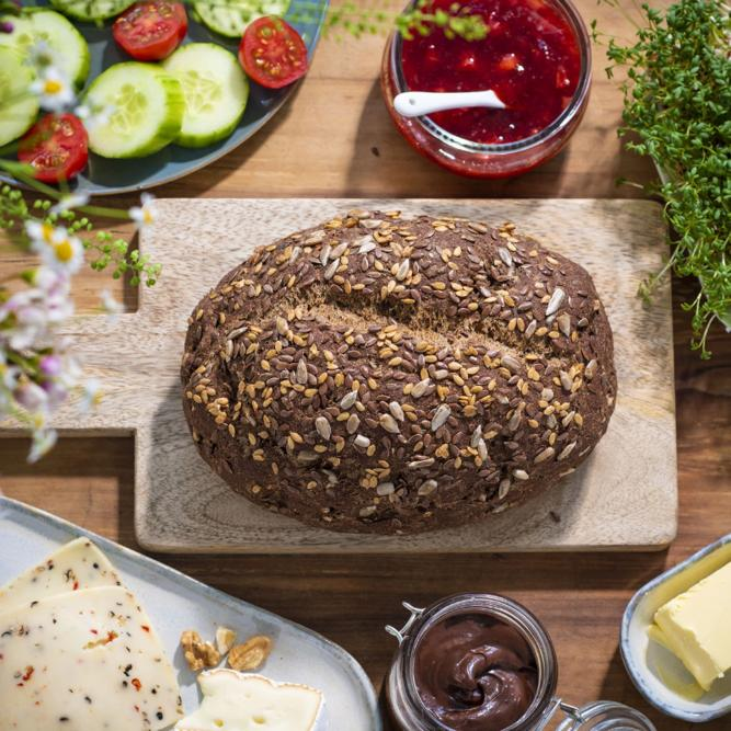Lizza Bio Low Carb Brot Backmischung glutenfrei bei Zöliakie